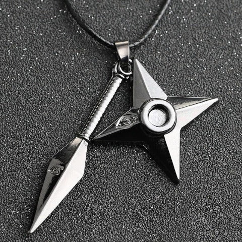 Collier Kunai Shuriken