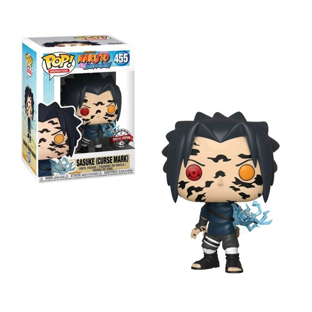 Figurine Pop Sasuke Sceau Maudit