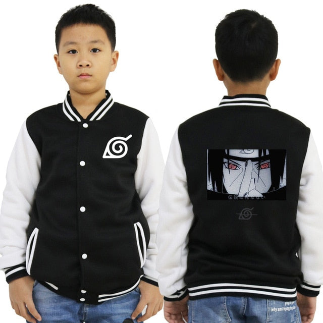 Veste Teddy Naruto Enfant (3 designs)