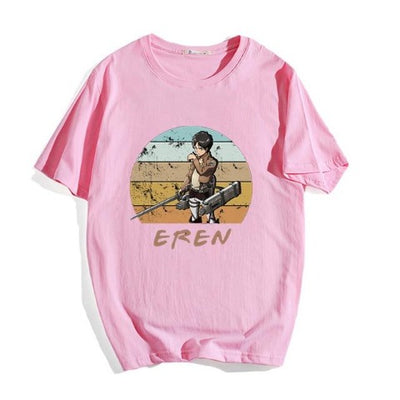 T-Shirt Eren rose