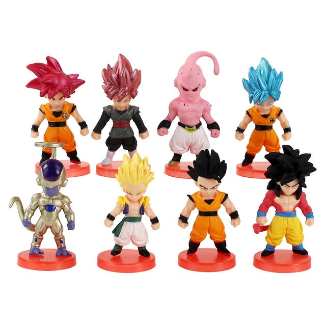 Figurines Dragon Ball Super (par 8)