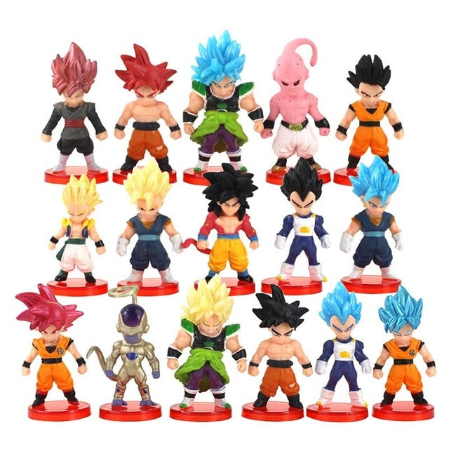 Pack Figurines Dragon Ball Z (par 16)