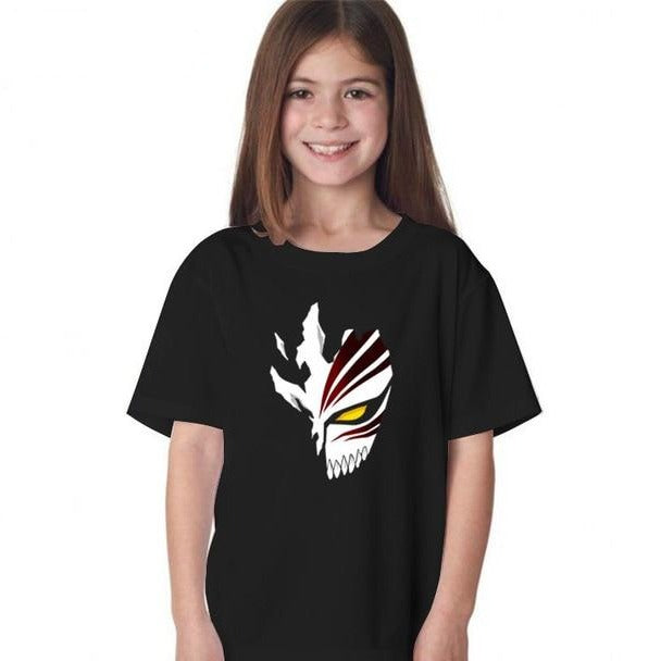 T-Shirt Enfant Bleach Masque Hollow