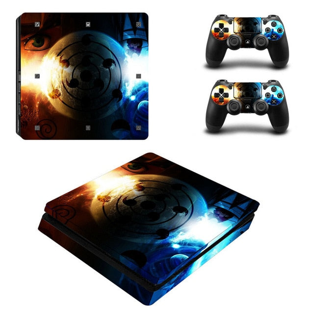 Sticker PS4 Slim Sharingan