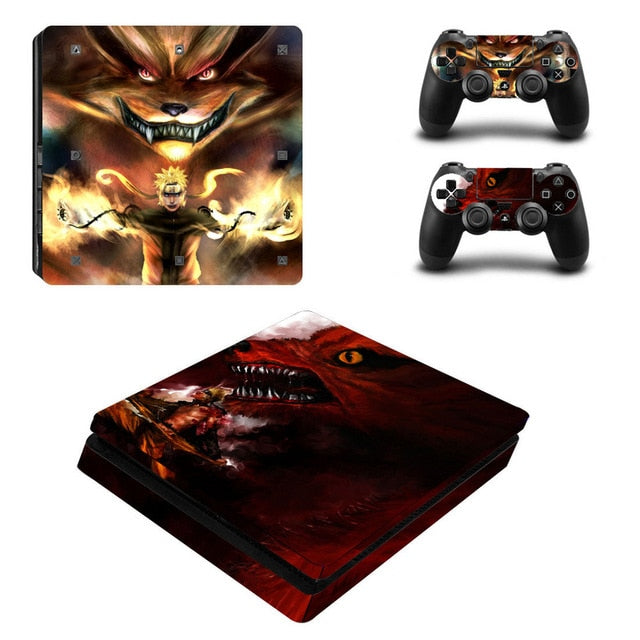 Sticker PS4 Slim Naruto Kuruma