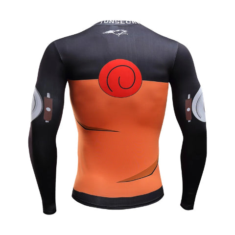 Compression Longue Naruto Uzumaki
