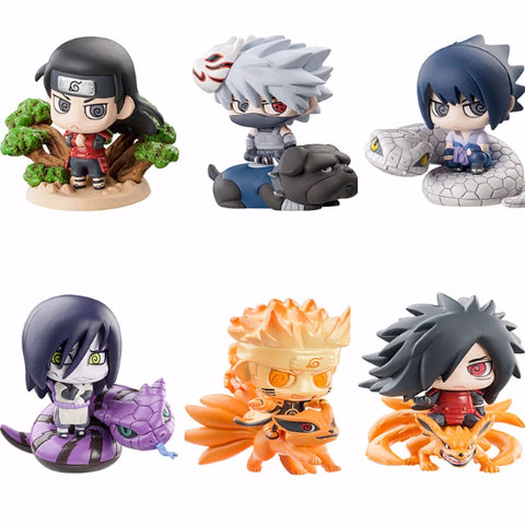 Set de 6 figurines Pop Naruto