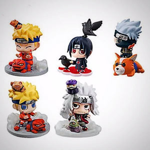 Set de Figurines Naruto