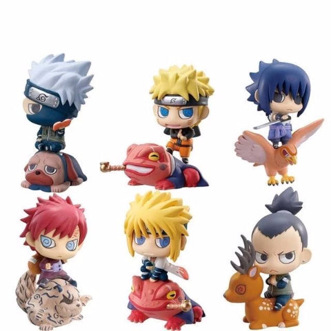 Pack de Figurines Naruto