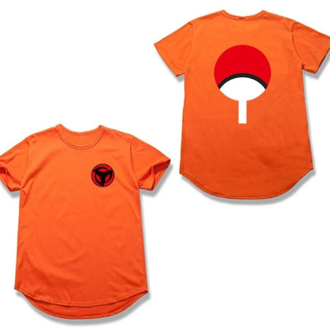 T-Shirt Sasuke Uchiha Orange