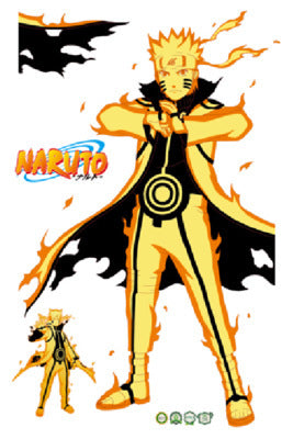 Pack de stickers Naruto Uzumaki