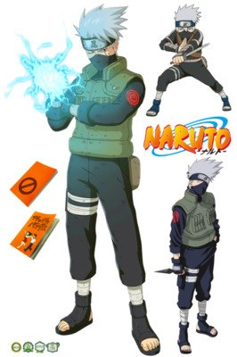 Pack de stickers Kakashi Hatake
