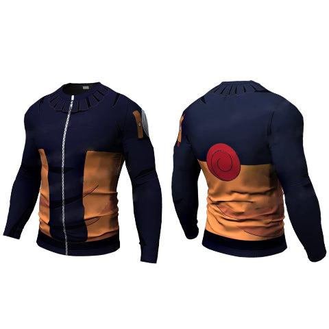 T-Shirt Long Naruto Fitness