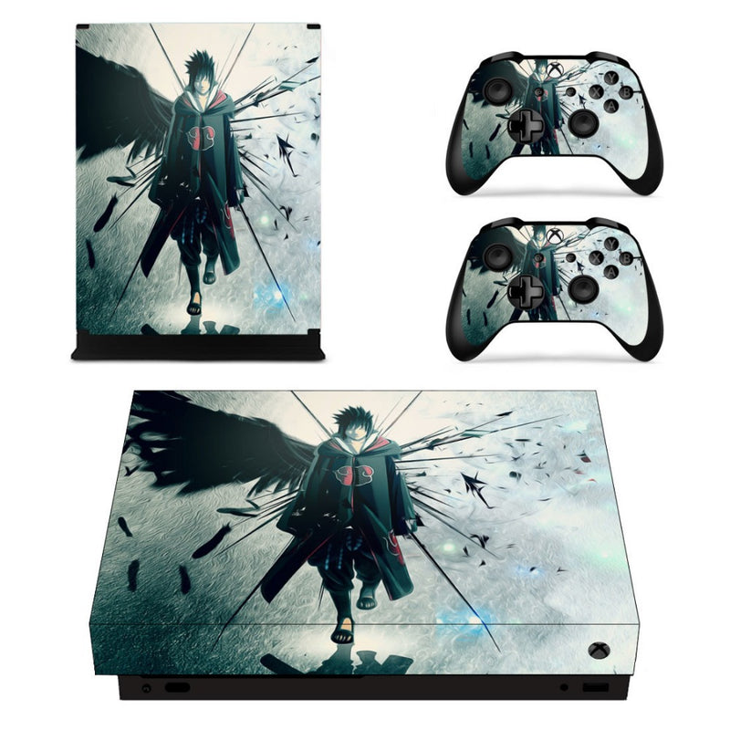 Sticker XboX One X Sasuke Akatsuki