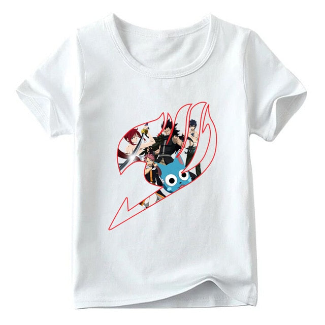 T-Shirt Enfant Happy Fairy Tail