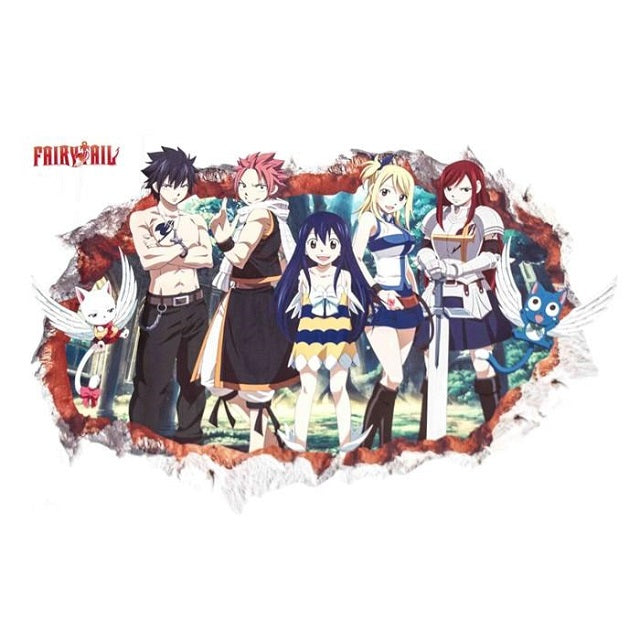 Sticker Mural Fairy Tail