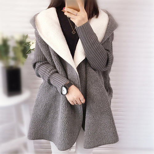 Lambs Wool Knitwear Cotton Thickening