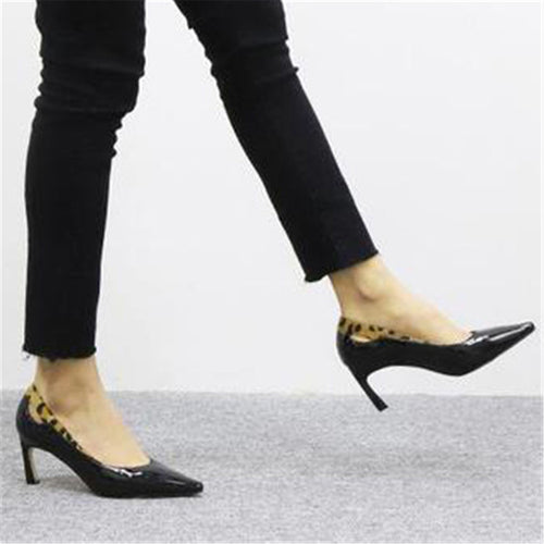 2019 Pointed Toed Plain High Heel Shoes