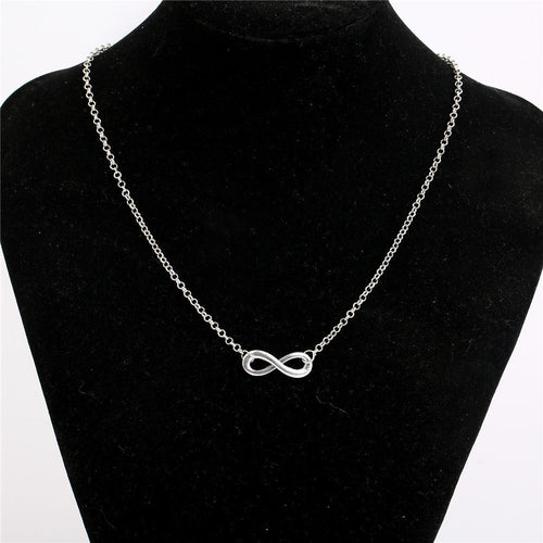 Elegant Number Eight Necklace