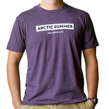 Load image into Gallery viewer, Purple Crew Neck T-Shirt
