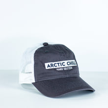 Load image into Gallery viewer, Arctic Chill Gray Trucker Hat