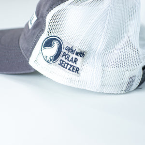 Arctic Chill Gray Trucker Hat