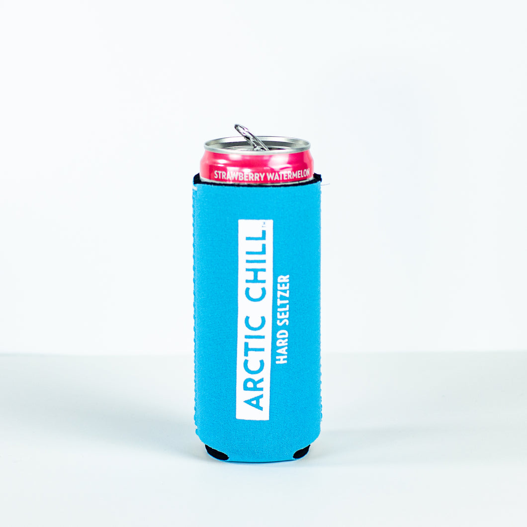 Arctic Chill Slim Can Koozie
