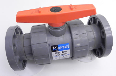 Hayward Flanged Ball Valve CPVC EPDM 3""
