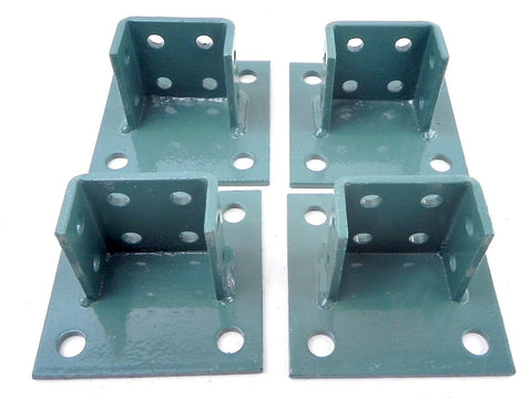 Thomas & betts Post Base Square AP235SQHDG (4 Parts)