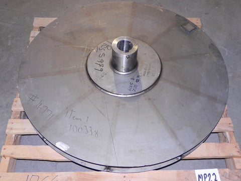 Illinois Blower Fan Impeller 502 HPRB Super Alloy