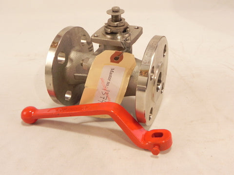 "JC Trueline Stainless Steel Flanged Ball Valve 1"" 515 I.I.T ANSI 150"
