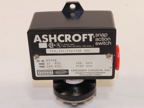 Ashcroft Pressure Switch B424B