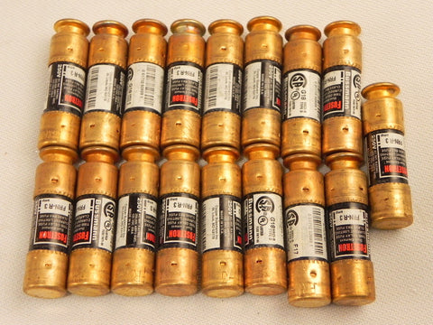 Bussmann  Fuse FRNR3 / FRN-R 3 A (lot of 17)
