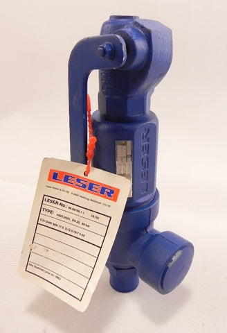 "Leser Safety Valve 1"" X 1-1/2"" DN 20 96.96796.1.1"
