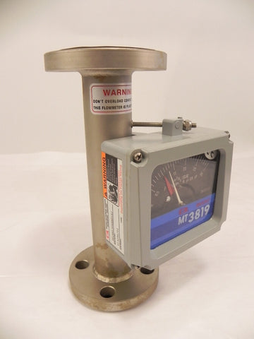 "Brooks Flow Meter 1"" MT 3819"