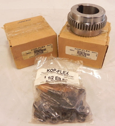 Kop-Flex Coupling Hubs 1-1/2H FHUB (Lot of 2)