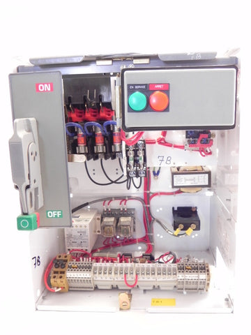 Square D Model 6 Motor Control Center 2 HP