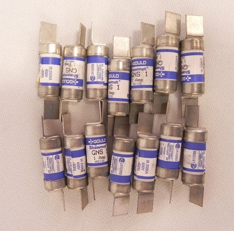 Gould Fuse GNS 1 HRCI-CB  (lot of 14 )