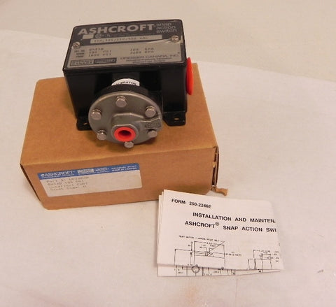 Ashcroft / Dresser Snap Action Switch B424B