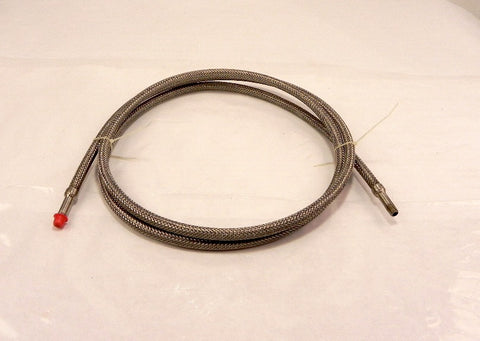 "Flex Pression SS Flexible Hose Assy 1/8"" NPT x 98"""