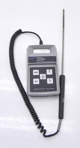 Cole-Parmer Thermometer Model 8110-30 W/Probe