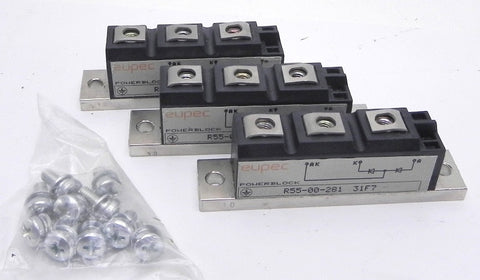 Eupec PowerBlock  R55-00-278 (Lot of 3) New