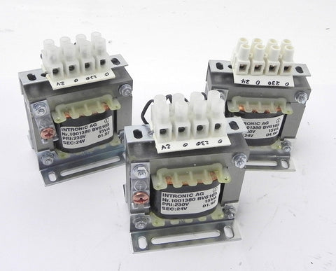 Intronic Step-Down Transformer 230 VAC  24 VAC (3)
