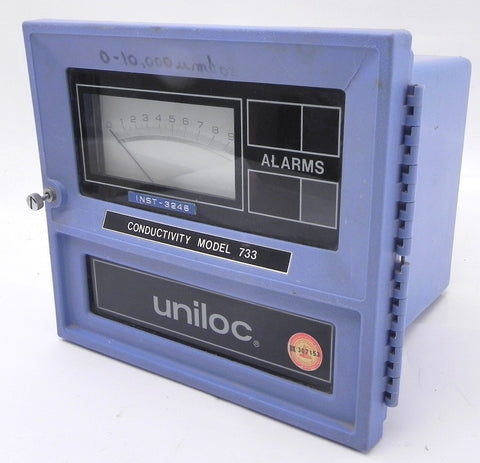 Rosemount Uniloc Conductivity Analyser Model 733
