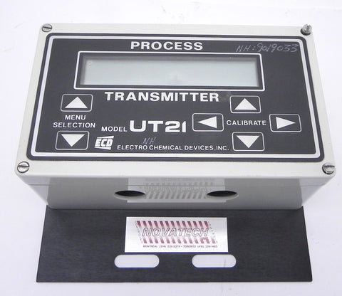 Electro chemical Process  Transmitter Model UT21