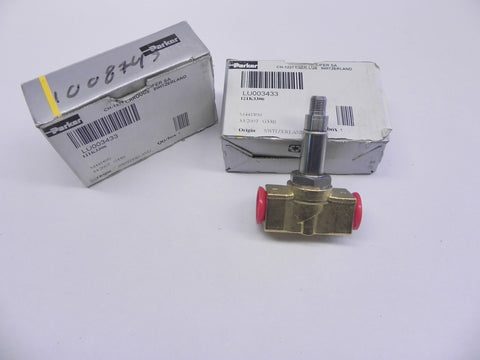 Parker Valve W/Out Solenoid 121K3306 (Lot of 2)
