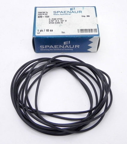 Spaenaur O Ring Viton 75 Duro Black 320-154 (10 Pcs)