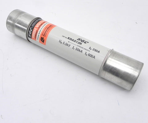 GEC Electric Current Limiting Fuse KDAX12R 5.5kV 230A