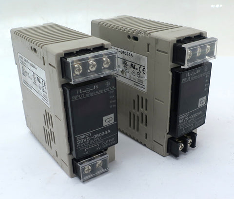 Omron Power Supply S8VS-06024A (Lot of 2)