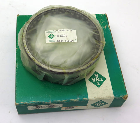 INA Needle Roller Bearing NK100/36 Without Inner Ring Free Shipping
